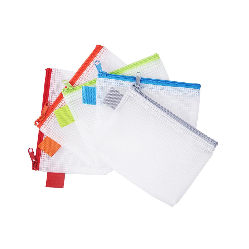 連勤 LANCHYN PEVA無毒環保網狀拉鍊袋(證件袋)