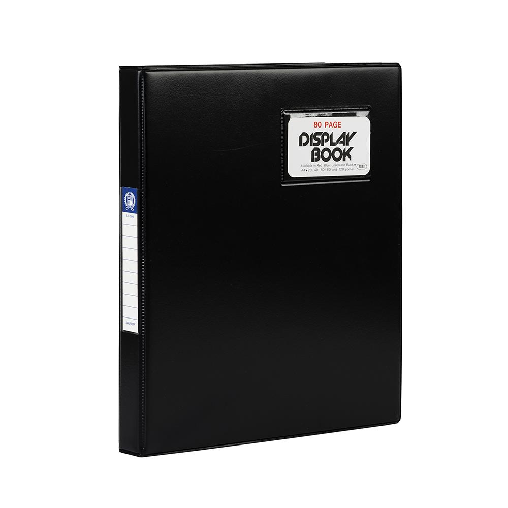 連勤 LANCHYN PVC高級活頁檔案夾-80PAGE